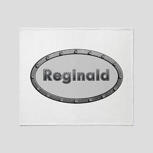 Reginald Metal Oval Throw Blanket