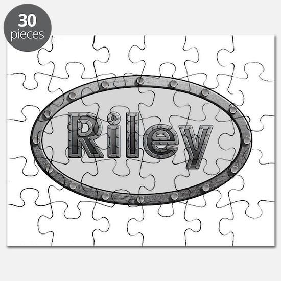 Riley Metal Oval Puzzle