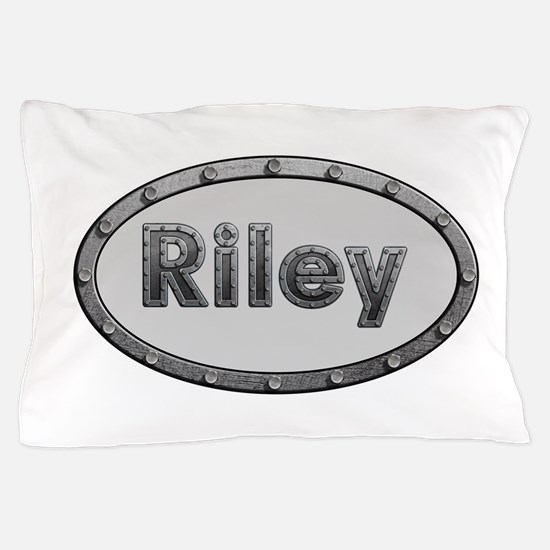 Riley Metal Oval Pillow Case