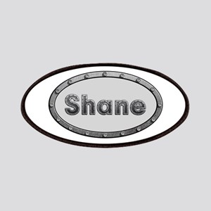 Shane Metal Oval Patch