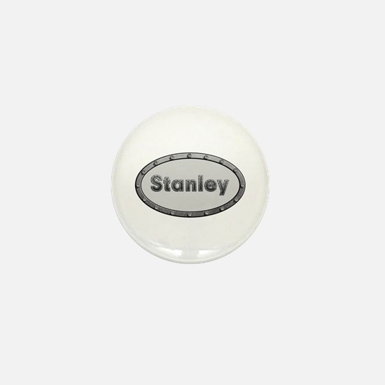 Stanley Metal Oval Mini Button