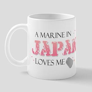 A Marine in Japan loves me Mug