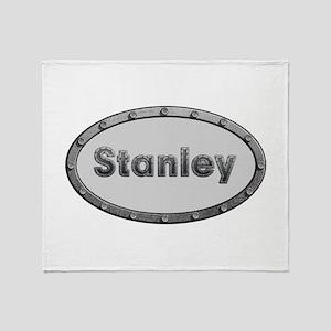 Stanley Metal Oval Throw Blanket