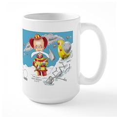 Brent A Mitchel-Gaudet Large Mug