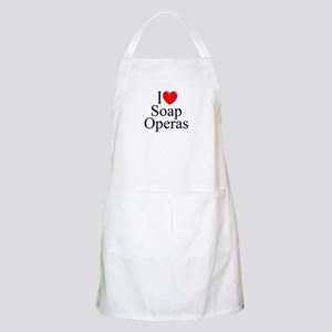 """I Love (Heart) Soap Operas"" BBQ Apron"