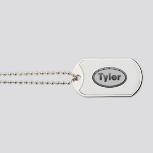 Tyler Metal Oval Dog Tags