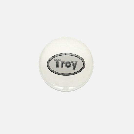 Troy Metal Oval Mini Button