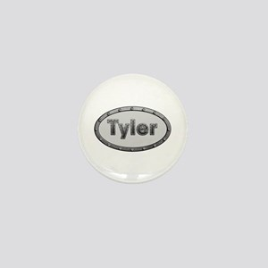 Tyler Metal Oval Mini Button