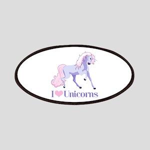 I Heart Unicorns Patches