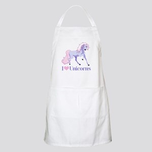 I Heart Unicorns Apron