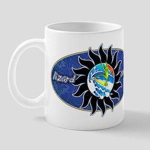 Lizard Surf Sun Mug