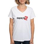 Shopping for Two, Girl Women's V-Neck T-Shirt