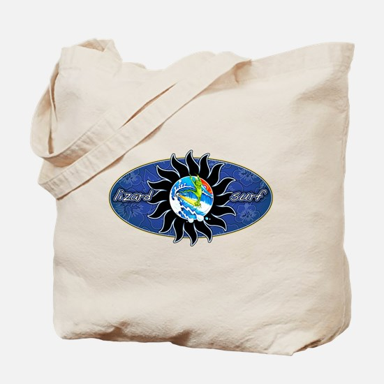 Lizard Surf Sun Tote Bag