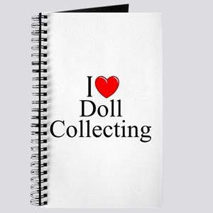 """I Love (Heart) Doll Collecting"" Journal"