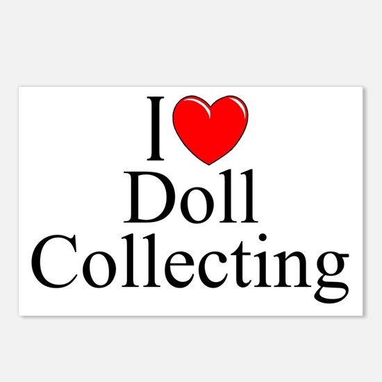 """""""I Love (Heart) Doll Collecting"""" Postcards (Packag"""