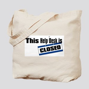 Help Desk Closed Tote Bag