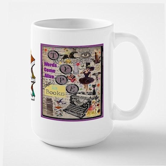 Words Come Alive Large Mug Mugs