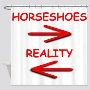 horseshoes Shower Curtain