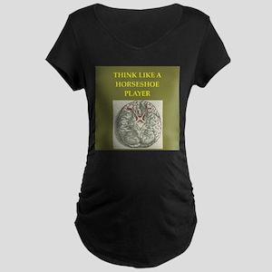 horseshoe Maternity T-Shirt