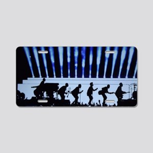 rockin blues Aluminum License Plate