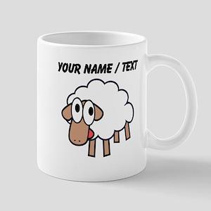 Custom Cartoon Sheep Mugs
