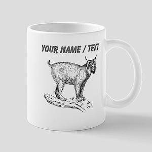 Custom Lynx Sketch Mugs