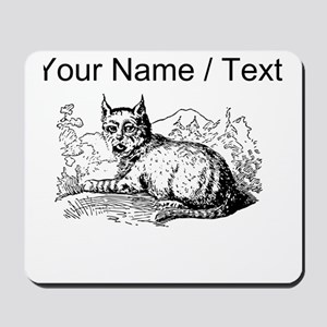 Custom Lynx Sketch Mousepad