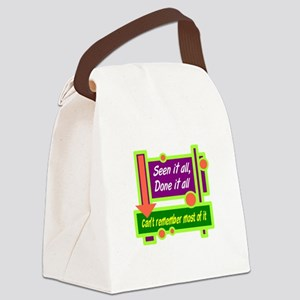 Seen It All Canvas Lunch Bag