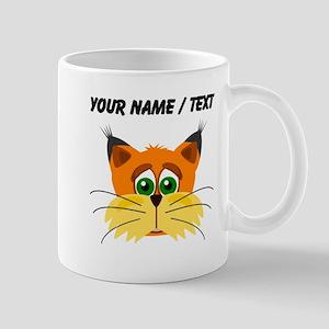 Custom Orange Cat Mugs
