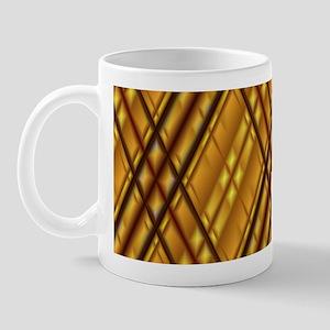 Skewed Plaid Mug