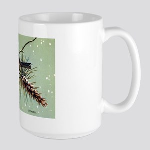 Chickadee Bird Large Mug