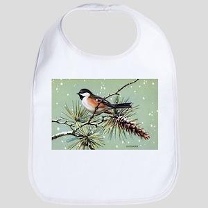 Chickadee Bird Bib
