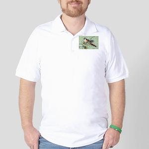 Chickadee Bird Golf Shirt
