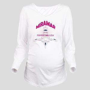 Miramar Long Sleeve Maternity T-Shirt