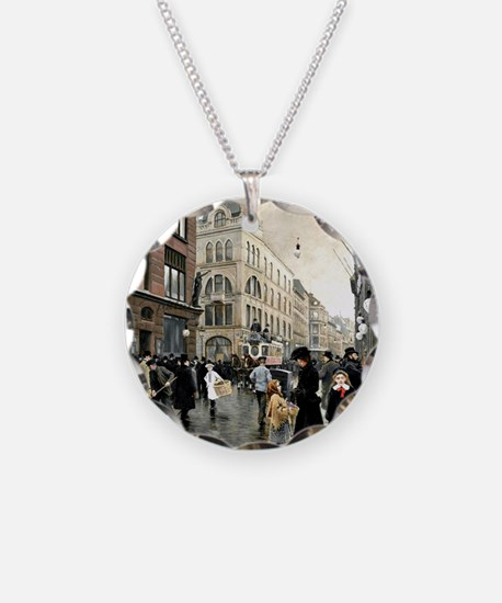 View of the Stroget, Copenha Necklace