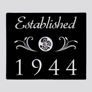 Established 1944 Throw Blanket