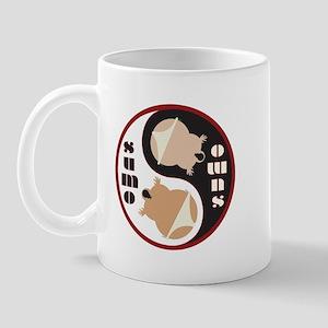 Yin Yang SUMO Mug