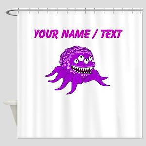 Custom Mutant Octopus Shower Curtain
