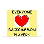 backgammon Postcards (Package of 8)