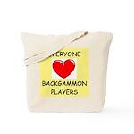 backgammon Tote Bag