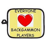 backgammon Potholder