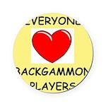 backgammon Cork Coaster