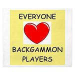 backgammon King Duvet