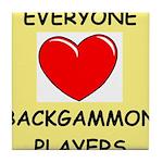backgammon Tile Coaster