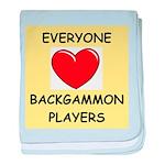 backgammon baby blanket
