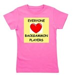 backgammon Girl's Tee