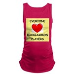 backgammon Maternity Tank Top