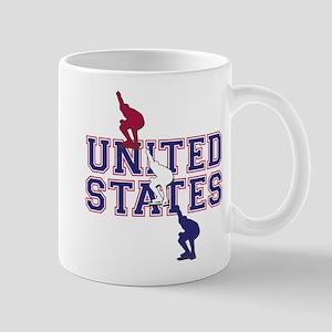 USA Speedskating 11 oz Ceramic Mug
