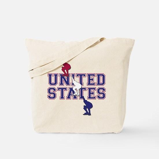 USA Speedskating Tote Bag