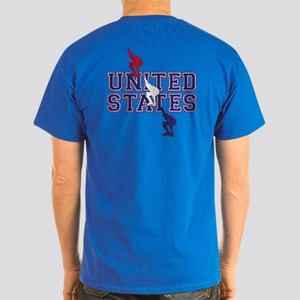 USA Speedskating Dark T-Shirt